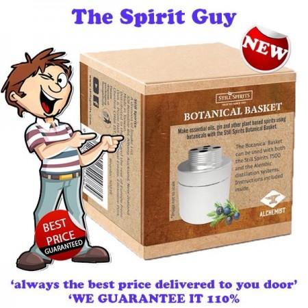 BOTANICALS BASKET - London Dry Gin Botanicals