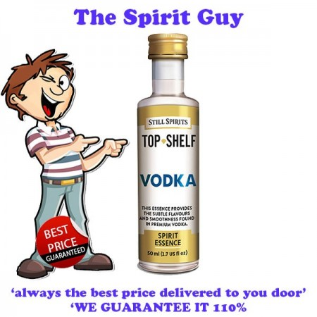 Vodka ( Smirnoff ) Top Shelf Spirit Flavouring Essence