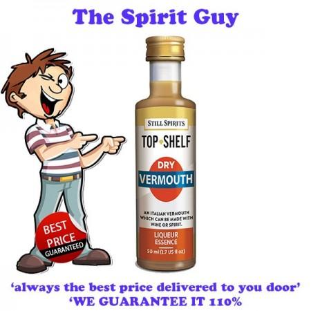 Dry Vermouth Top Shelf Liqueur Essence