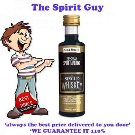 Single Whiskey Top Shelf Spirit Flavouring Essence