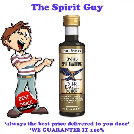 Wild Eagle ( Scrub Turkey ) Bourbon Top Shelf Spirit Flavouring Essence