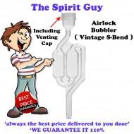 Airlock Bubbler & Venting Cap Inc Grommet @ $3.75 ea