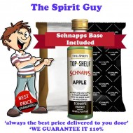 Apple Schnapps Liqueur Essence Flavouring & Base Pack