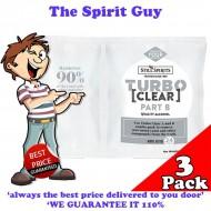 Turbo Clear ( 3 Pack ) @ $4.30 ea