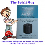 Air Still Carbon Filter Replacement Cartridges x 3 Pack @ $6.15 ea