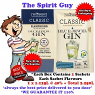 BLUE JEWEL GIN - CLASSIC SPIRIT ESSENCE - 30164-2