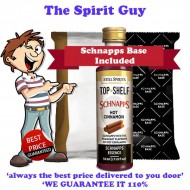 Hot Cinnamon Schnapps Liqueur Essence Flavouring & Base Pack