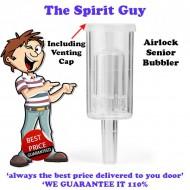 Airlock Bubbler 3 Piece & Grommet @ $3.75 ea