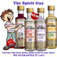 Gin Variety 4 Pack Top Shelf Spirit Flavouring Essence @ $24 ( $6 each )