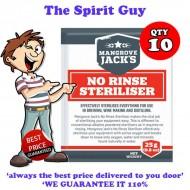 No Rinse Sanitise Steriliser 10 x 25g Pack Promo
