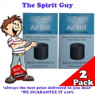 Air Still Carbon Filter Replacement Cartridges x 2 Pack @ $6.25 ea