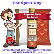Orange Brandy Top Shelf Liqueur Essence & Base Pack - A