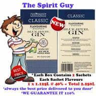 BLUE JEWEL GIN - CLASSIC SPIRIT ESSENCE - 30164-2