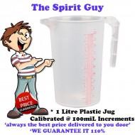 Plastic Mixing Jug 1 Litre