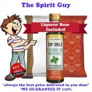 Creme De Menthe Top Shelf Liqueur Essence & Base Pack - A