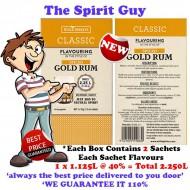 SPICED GOLD RUM - CLASSIC SPIRIT ESSENCE - 30166-2