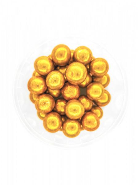Dekorativne perle ZLATNE 12mm 50g