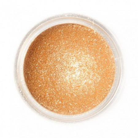 Fractal boja u prahu svetlucava zlatna