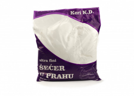 EKSTRA mleveni prah šećer 2kg