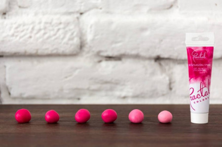 Fractal gel boja Pink 30g