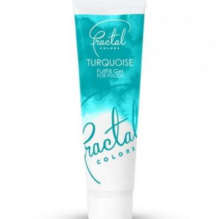 Fractal gel boja Tirkizna 30g