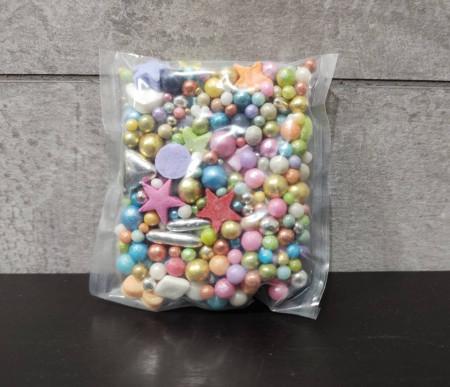 Ukrasne jestive perle SARENI MIX 5mm 50g