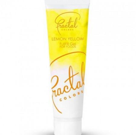 Fractal gel boja Limun zuta30g