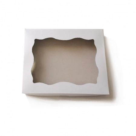 Kutija za kolače bela 1kg