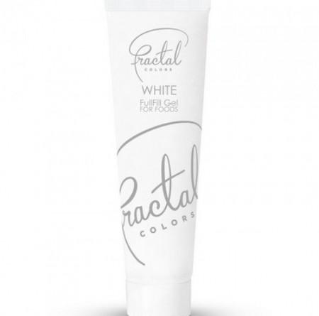 Fractal gel boja Snežno bela 30g