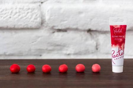 Fractal gel boja Jarko crvena 30g