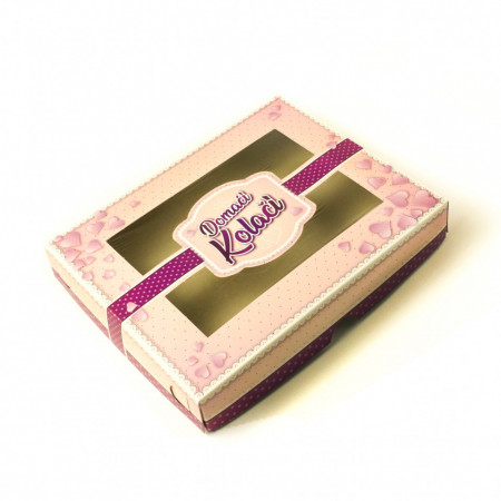 Kutija za kolače ljubicasta 1kg