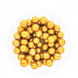 Dekorativne perle ZLATNE 9mm 50g
