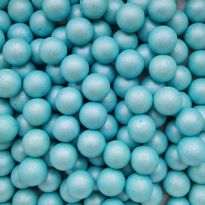 Dekorativne perle NEBO PLAVE 15mm 50g