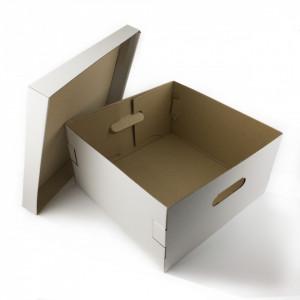 Kutija za tortu 25x25x17 - 5 kom