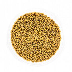 Dekorativne perle ZLATNE 2mm 50g