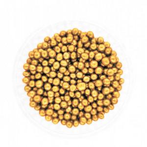 Dekorativne perle ZLATNE 4mm 50g