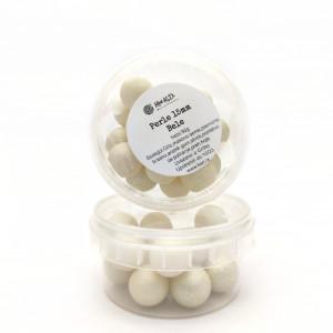 Dekorativne perle BELE 15mm