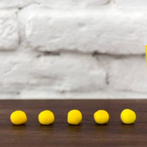 Fractal gel boja Limun zuta 30g