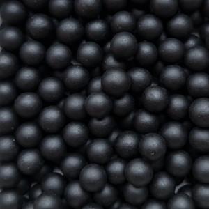 Dekorativne perle CRNE 15mm 50g
