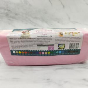 Fondan masa svetlo roza 1kg Lora sweet