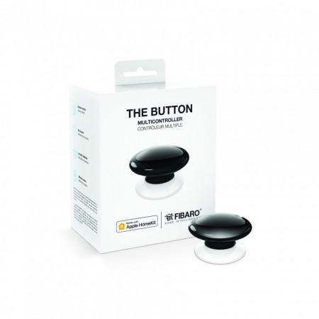 FIBARO Buton Apple HomeKit FGBHPB-101-2 - Negru
