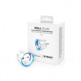 Priza FIBARO Wall Plug tip F (Schuko) compatibil Apple HomeKit