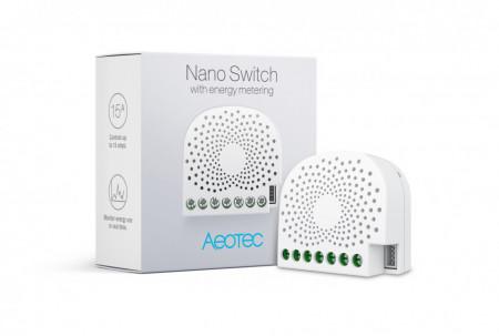 Aeotec Nano Switch with Power Metering (AEOEZW116)