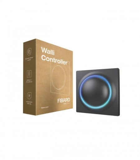 Controller FIBARO Walli Controller Anthracite, Z-Wave, FGWCEU-201-1-8