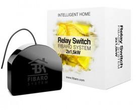 Intrerupator (Releu) Dublu Fibaro | Double Switch | 2X1,5 KW Fibaro FGS-222