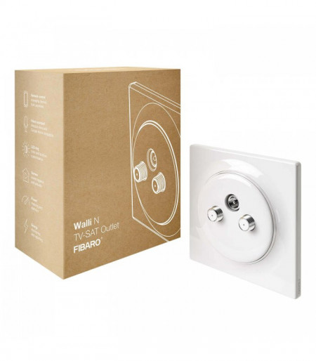 Poze FIBARO WALLI N TV-SAT OUTLET FGWTFEU-021