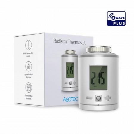 Aeotec Z-WAVE Radiator Thermostat   AEOEZWA021