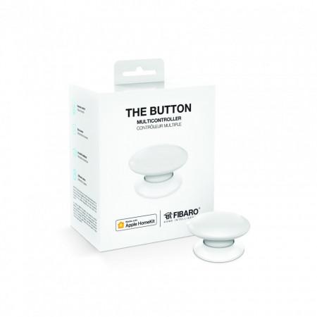 Poze FIBARO Buton Apple HomeKit FGBHPB-101-1 - Alb