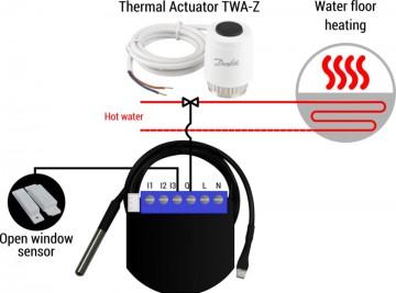 Poze Qubino PWM Thermostat | ZMNHLD1