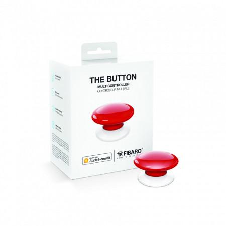 FIBARO Buton Apple HomeKit FGBHPB-101-3 - Rosu